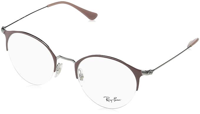 1291dd5a69 Amazon.com  Ray-Ban Unisex RX3578V Eyeglasses Black Matte Black 48mm   Clothing