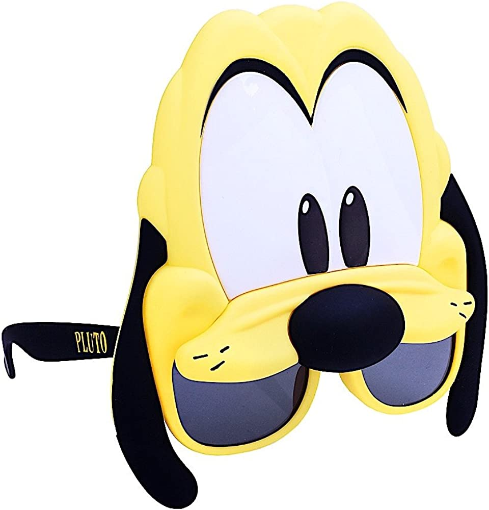 80597 one-size Costume Sunglasses Pluto Sun-Staches Party Favors UV400