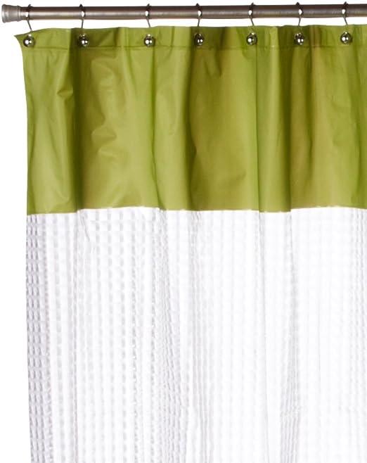 Sage Inc Carnation Home Fashions Odyssey 3 D Laser Print PEVA Shower Curtain SCPEVA//3D2//42
