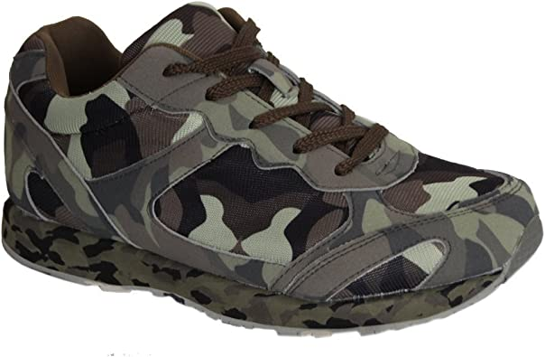 Waooh Basket Camouflage Tendance pour Femme Running