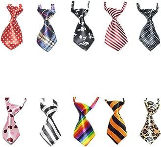 GOGO - Corbatas para perro o gato, varios colores, 10 piezas ...