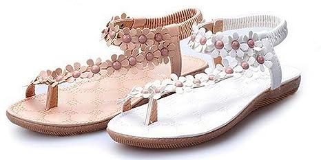 ebcbfa19a2eb9 Amazon.com  NewYork Offer Shop Women Bohemia Style Sling Sandals ...