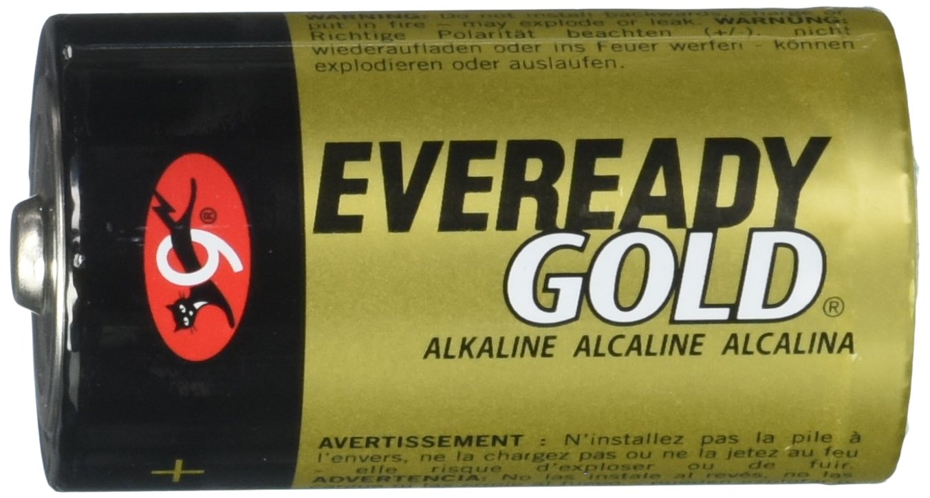 Eveready Gold D Alkaline Batteries EVEA958