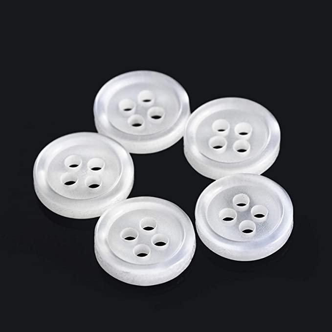 b53 Small plastic buttons set of 48