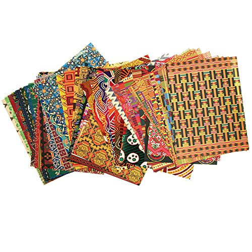 Roylco R-15199 Around The World Paper, 11'' Wide, 8.5'' Length, 0.38'' Height (96 Sheets per Package) by Roylco