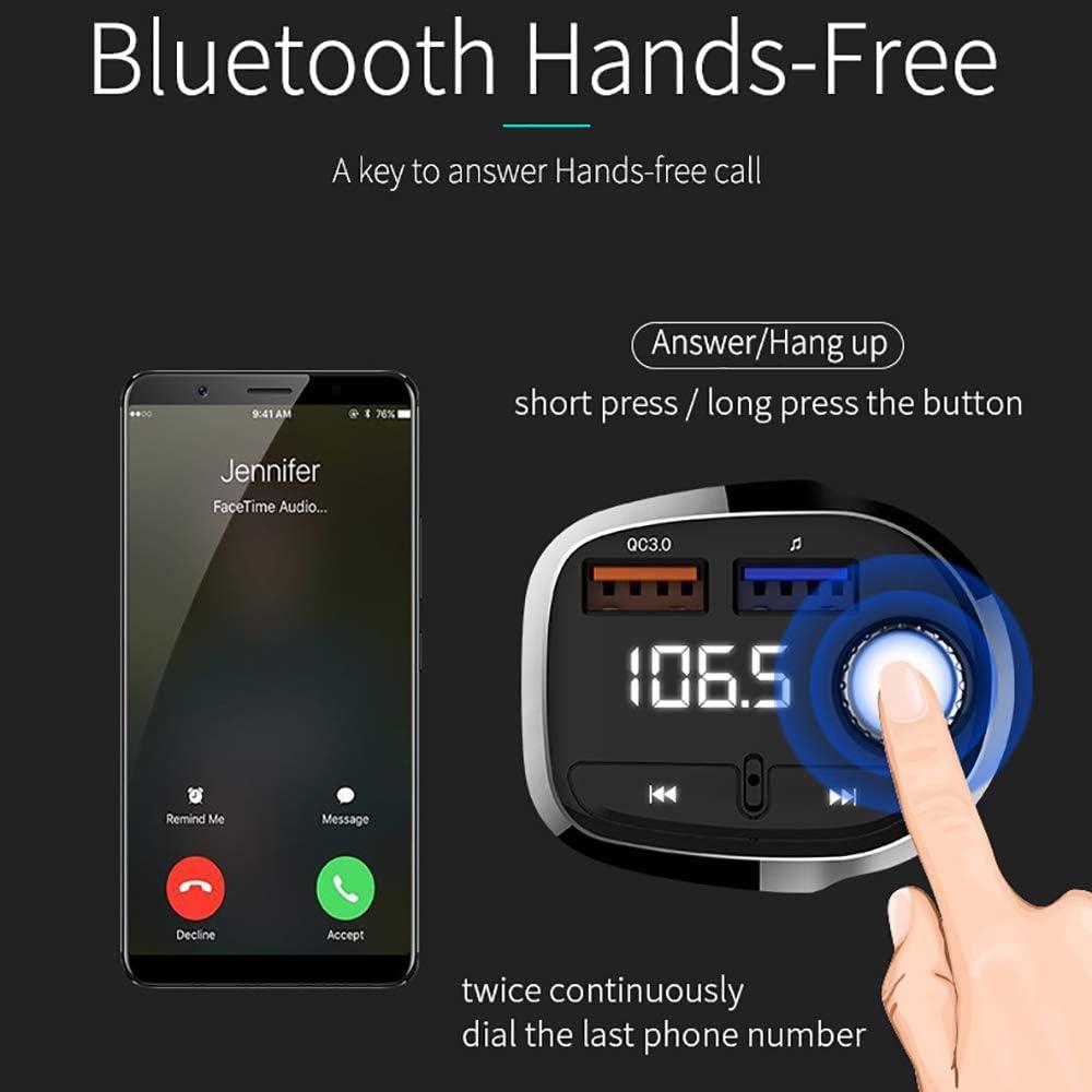 Fm Transmitter Bluetooth Auto Mit Qc 3 0 Radio Adapter Elektronik