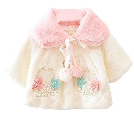 901edcae67b27 Scothen Bébé enfant bas âge veste d hiver enfants vestes de fourrure chaude  manteau d
