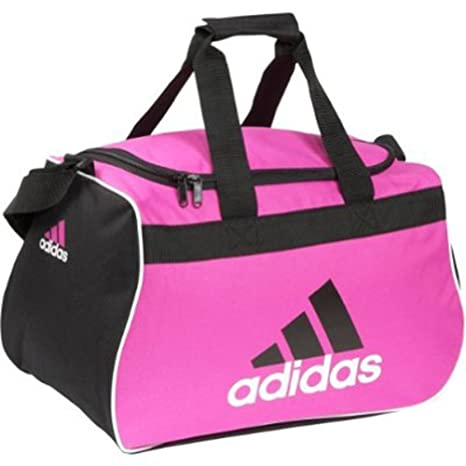 6712713ca2cb Adidas Diablo Duffel Soccer Bag -Small (Pink Black) (Small)  Amazon.ca   Sports   Outdoors