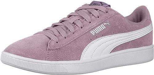 puma basket femme violet