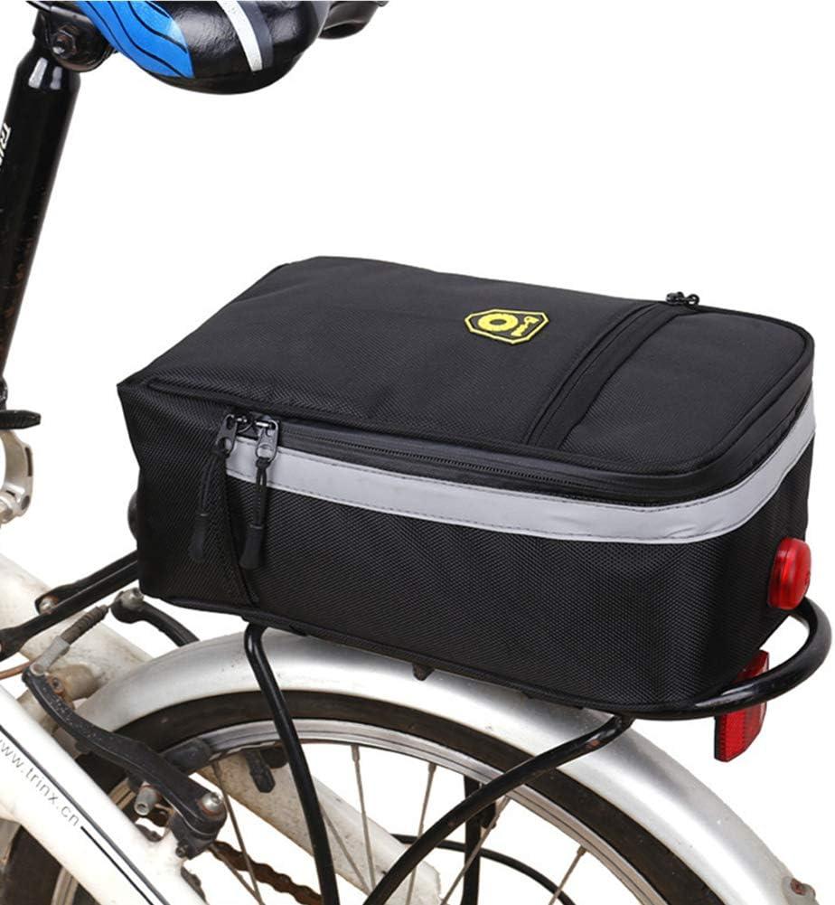 XGZ Bolsa Trasera para Bicicleta, Bolsa para Bicicleta de montaña, Bolsa de Transporte Impermeable para Botella de Agua: Amazon.es: Deportes y aire libre