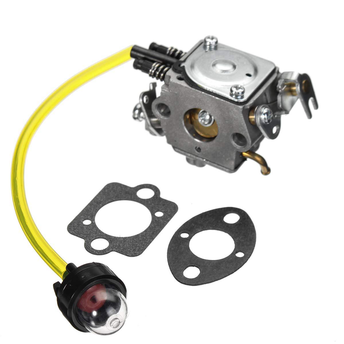 DADEQISH Carburador Carb para Husqvarna 322C 322L 323C 323L 325L ...