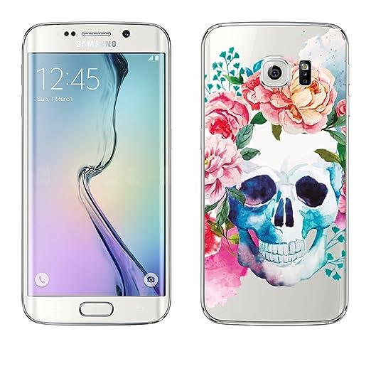 5 opinioni per Samsung Custodia di licaso® per il Samsung Galaxy S6 Edge di TPU Silicone Skull