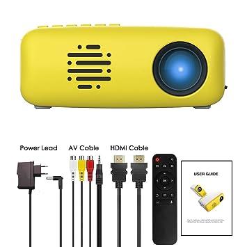 Micro proyector 3T6B teléfono Inteligente de Pared para Ver la ...
