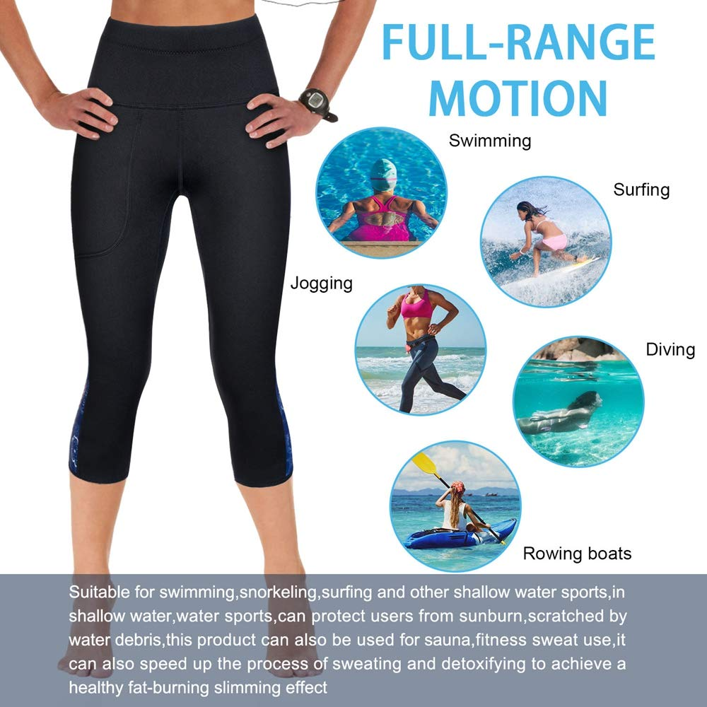 14bf974499e6d CtriLady High Waist Women Neoprene Wetsuit Pants 2.5mm UV Sun Protective  Leggings Diving Snorkeling Surf Swimming Water Sports Tights