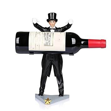 Amazoncom All Decor Creative Magician Wine Bottle Holder