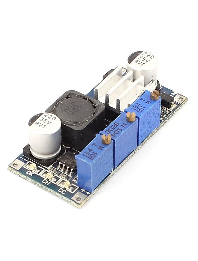 Amazon.com: eDealMax LM2596 DC-DC Paso-Down CC/CV módulo de carga Para la batería de litio LED: Electronics
