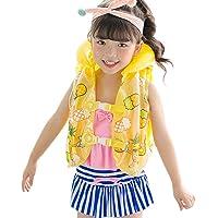 wonderday Kinderschul-Schwimmweste-Auftriebs-Jacken-aufblasbare Jacken-Baby-Schwimmen-Ausrüstung (2-6years)