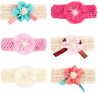 2 PIECE SET BABY GIRLS SOCK /& HEADBAND SET CHIFFON LACE BOW PINK WHITE