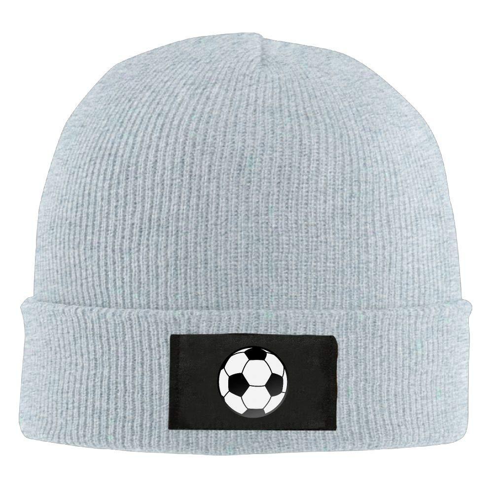 DLOAHJZH-Q Adult Unisex Soccer Ball Student Beanies