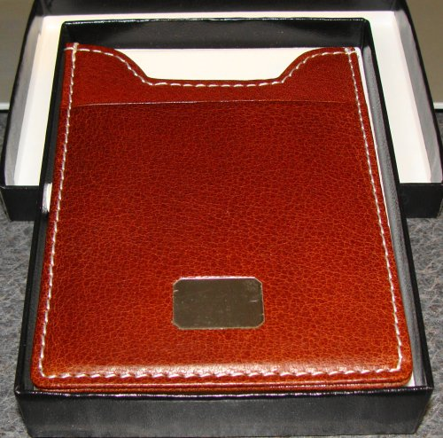 COLIBRI CREDIT CARD CASE LEATHER WITH MONEY CLIP AMC025900T