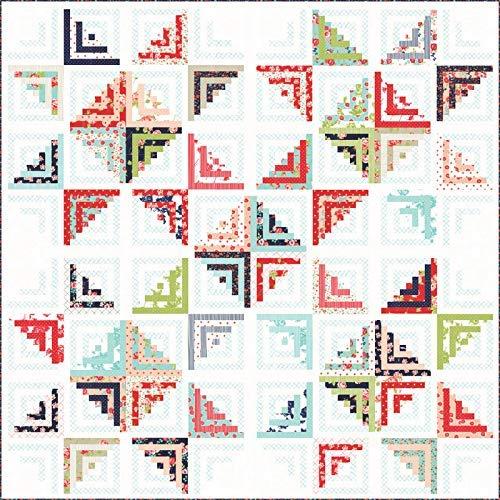 tten Sweet Escape Quilt Kit Moda Fabrics KIT55170 ()