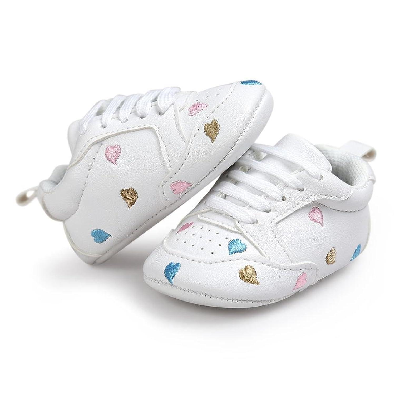 Per 0~18 Mesi,Amlaiworld Amore cuore forma ricamo fasciatura morbida suola  scarpe: Amazon.it: Scarpe e borse