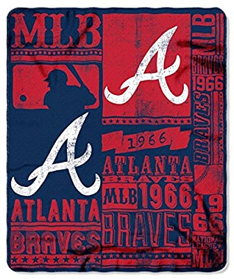 Atlanta Braves 50x60 Fleece Blanket - Strength Design