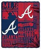Atlanta Braves 50x60 Fleece Blanket - Strength Design