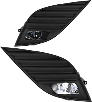 For Toyota Camry 2018-2019 Hybrid SE XSE LED Bumper Fog Lights Lamps w// Switch