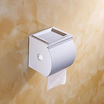 sbwylt-moistureproof polvo para caja de pañuelos espacio de aluminio resistente al agua toalla de papel higiénico no se oxida no negro no fade: Amazon.es: ...