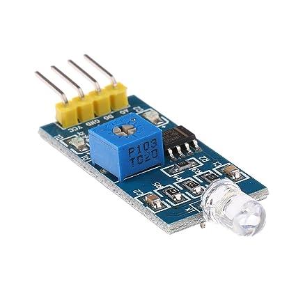 MagiDeal Sensor de Intensidad de Luz Digital Fotodiodo Módulo Resistencia de Foto Para Arduino Herramienta