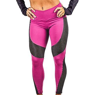OverDose leggins mujer yoga deportivos fitness pantalones largos
