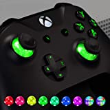 eXtremeRate Multi-Colors Luminated D-pad Thumbsticks Start Back ABXY Action Buttons (DTF) LED Kit for Xbox One Standard…