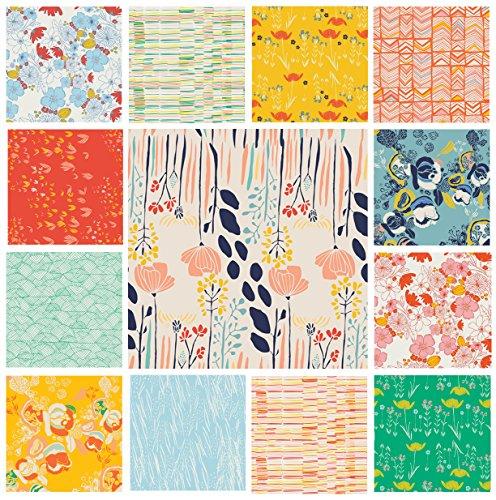 13-fabric-bundle-meadow-leah-duncan-art-gallery-fabrics-flowers-lea-garden-park-quilt-blocks-fat-qua
