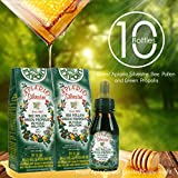 Official Distributor - 10 Bottles of Apiario Silvestre Bee Pollen Green Propolis Liquid-Alcohol Free, Wax Free, Sugar Free