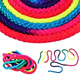 T-best Gymnastics Rainbow Rope Rhythmic Gymnastics Rope Jumping Exercise Rope Competition Arts Training Rope