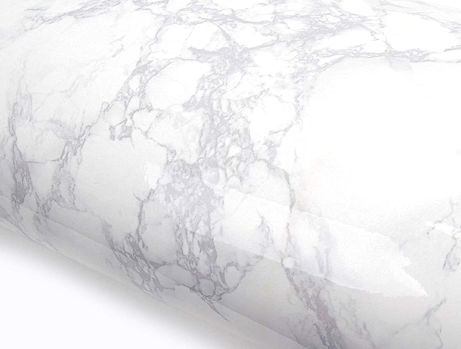 Granite Thick Vinyl Marble Weave Wallpaper Pale Grey Paste The Wall