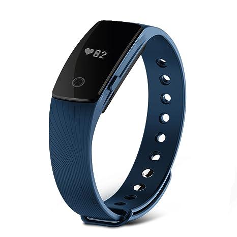 Pulsera Inteligente, SAVFY Deportes Pulsera Reloj de Pulsera Teléfono Celular Mate con Podómetro Con pantalla