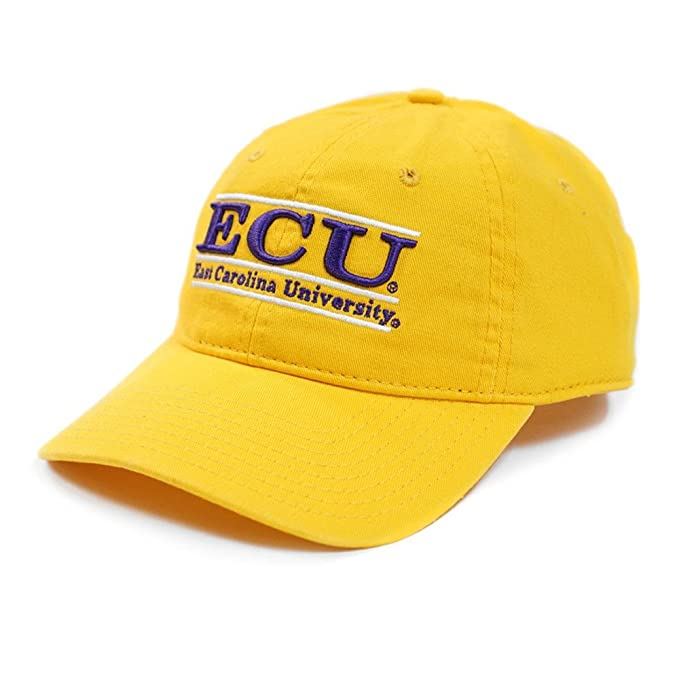 330964331b9 ... coupon east carolina gold ecu bar design cap 195c0 8711b
