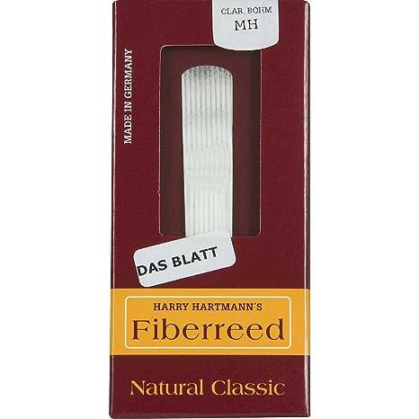 Fiberreed Canas Clarinete en Sib natural classic MH: Amazon.es ...