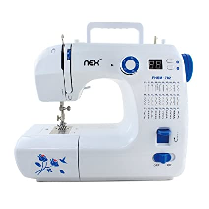 Amazon NEX NECS40WBL Featured Portable Sewing Machine WhiteBlue New Sewing Machine Part Crossword