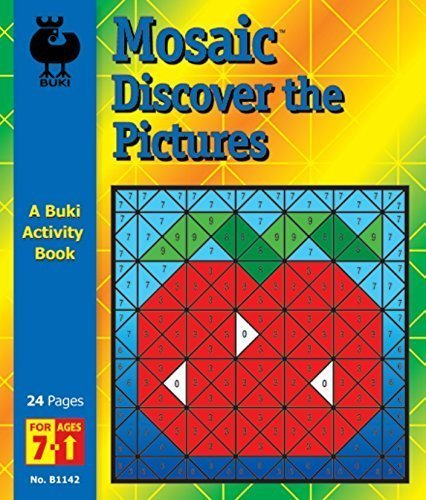 Buki Activity Book Mosaic Discover The Pictures Game