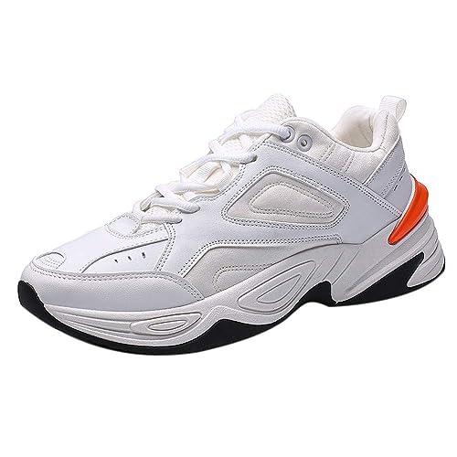Kinlene Zapatillas de Correr para Hombre Zapatillas de Deporte para Caminar al Aire Libre Calzado Deportivo cómodo Hombres Deporte: Amazon.es: Zapatos y ...