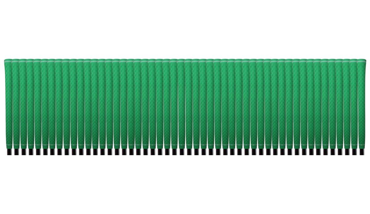 150 pcs - Majek Tour Pro Lime Green Standard Golf Grips