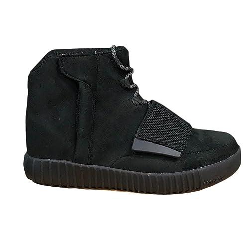 Fashion Total Alte Uomo Da Sneakers Scarpe Sportive Ginnastica Black ptrq4w6gpx