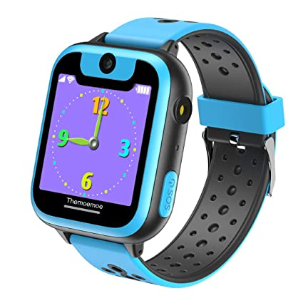 THEMOEMOE Smart Watch for Kids, Game Watch for Kids, Kids Smartwatch, Smart Watch with Camera, for Girls Boy, 1.44 inch Touch Screen Games Smartswatch ...