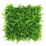 ULAND Artificial Hedges Panels, Outdoor Greenery Ivy Privacy Fence Screening, Home Garden Wedding Decoration (6, A038)