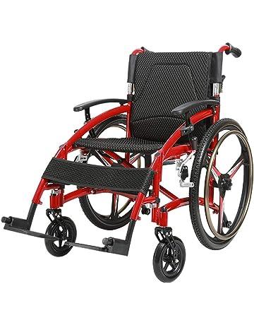 QETU Silla de Ruedas de aleación Aluminio para Ancianos - 17.3