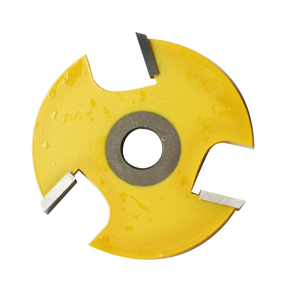 Kempston 704851 3 Wing Slot Cutter Cutter Only 1 4 Inch width 1 7 8 Inch Length 5 16 Arbor