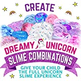 GirlZone Unicorn Egg Sparkly Surprise Slime Kit for